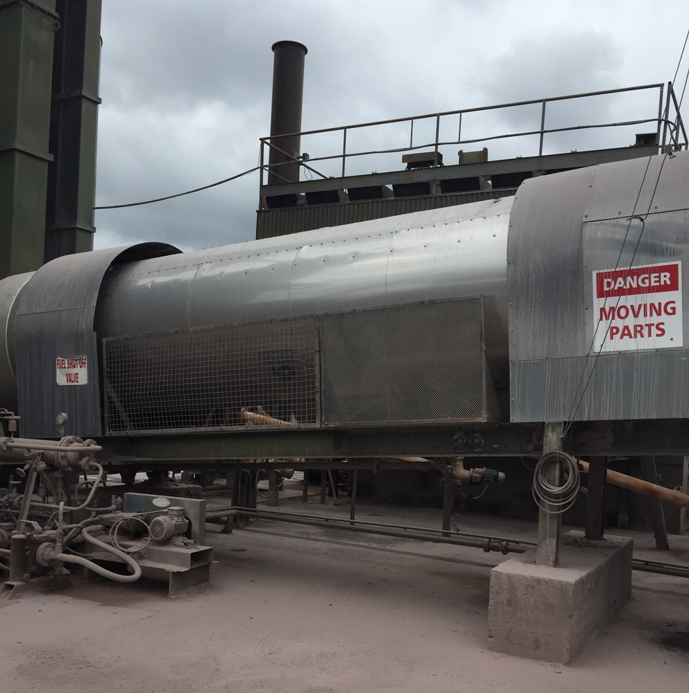 Rotary Dryer to Mid Cork Quarries